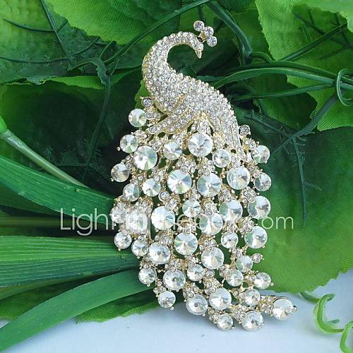 women-vintage-alloy-clear-rhinestone-crystal-peacock-bridal-brooch-wedding-jewelry