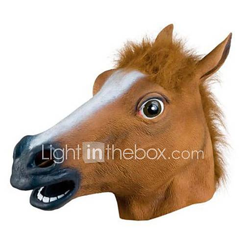 Popular Horsehead Mask for Halloween Party(1 Pc) Descuento en Lightinthebox