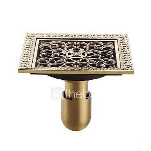 bathroom-accessory-antique-brass-finish-solid-brass-floor-drain