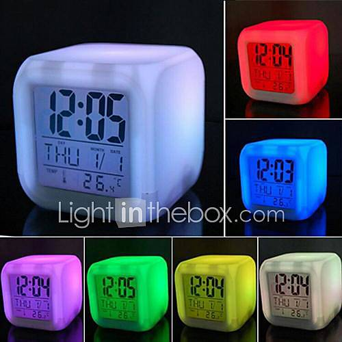 Lumo Projection Alarm Clock - Minimal Form For. - Luminaire Store