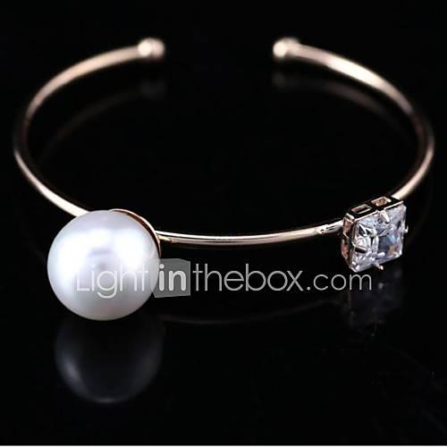 la mode Bright Pearl bracelets haut de gamme des femmes