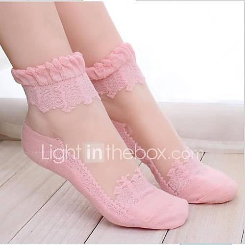 calcetines de encaje perspectiva de las mujeres Descuento en Lightinthebox