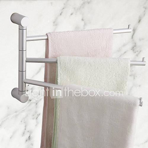 Contemporary rotation space aluminium towel rack 659663 2016 - Towel racks for small spaces concept ...