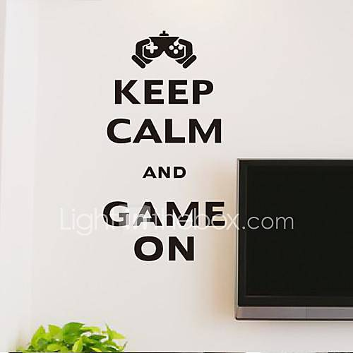 Wall Stickers Wall Decals Modern Keep cool to play the