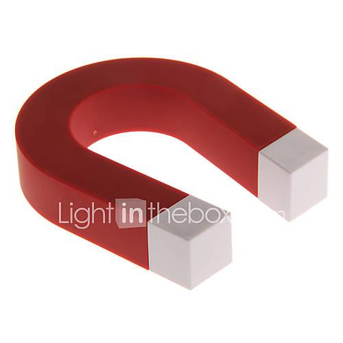 Red u shaped magnetic keys holders novelty toys