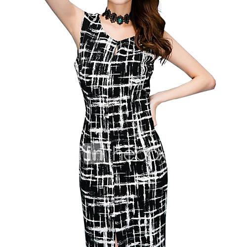 robe aux femmes gaine grandes tailles vintage travail. Black Bedroom Furniture Sets. Home Design Ideas