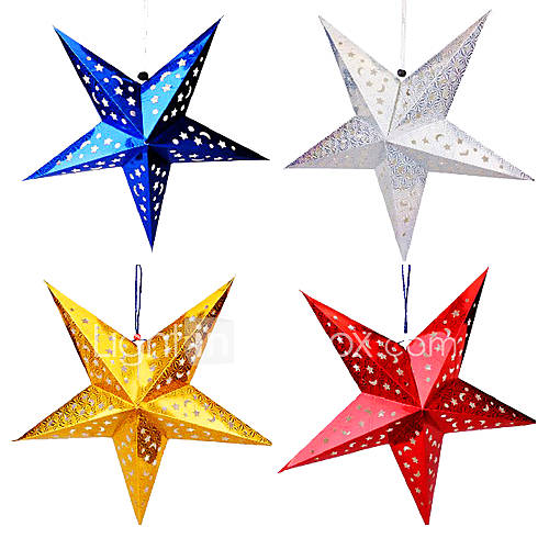 decoracao em lampadas:estrela da capa da lâmpada em forma de decoração de natal (mais