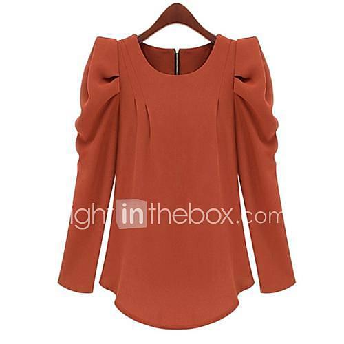 manches bouffantes la chemise des femmes (plus de couleurs)