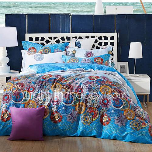 Fadfay Exotic Bohemian Duvet Covers Boho Bedding Sets
