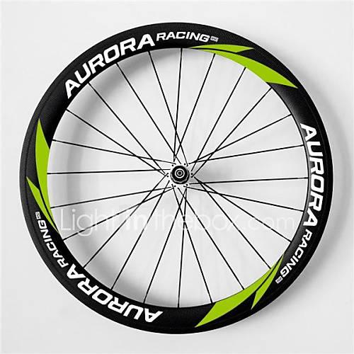 AURORA RACING 700c Road 50C-23mm Full Carbon Clincher Road Bike Wheels  with Pr13 Hub