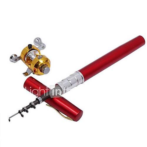 Mini rod pen rod fishing rod reel fishing rod pen for Fishing rod pen