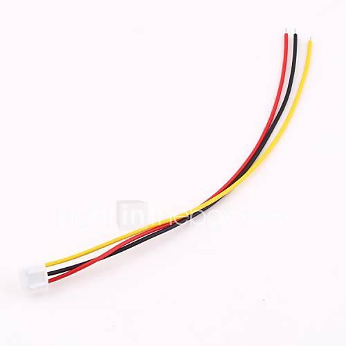 10pcs de lipo câble connecteur 7.4v xh adaptateur rc chargeur de batterie équilibre de la b6