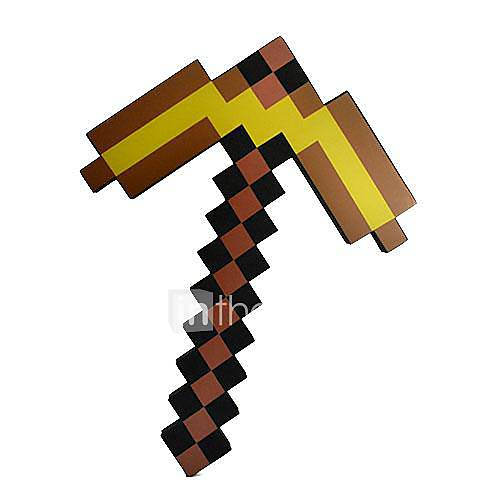 how to create a pickaxe in minecraft