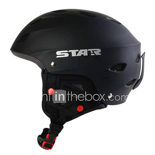 estrela-unisex-estilo-rei-escuro-abs-preto-ski-snowboard-capacete