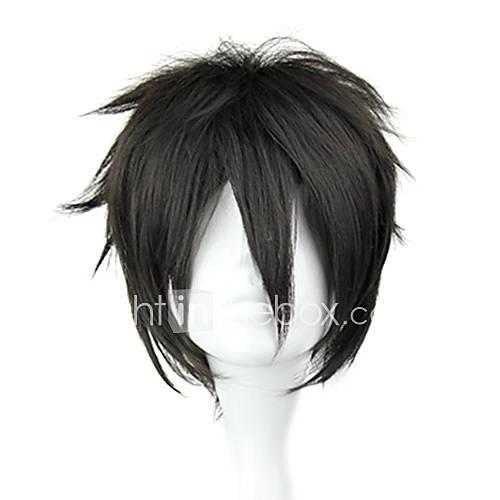peluca cosplay inspirado en el arte espada línea Kirito ver negro. Descuento en Lightinthebox