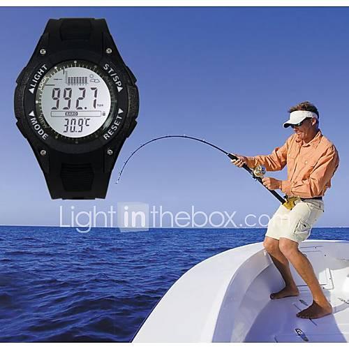 Sunroad pêche numérique baromètre 3atm Montre étanche thermomètre modèle altimétrique fx702a nouveau