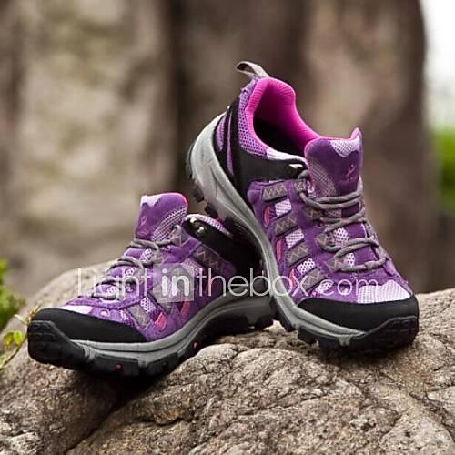 cor-roxa-respiravel-ao-livre-camping-caminhadas-viajando-calcados-esportivos-femininos