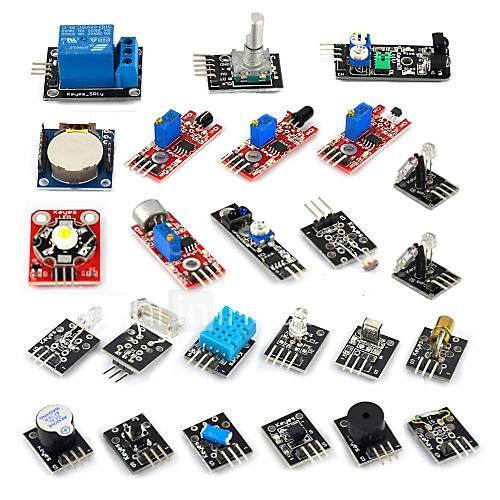 24 em 1 kit de sensor para arduino