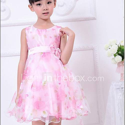 girl-flower-print-tulle-bow-party-wedding-pageant-princess-cute-dresses