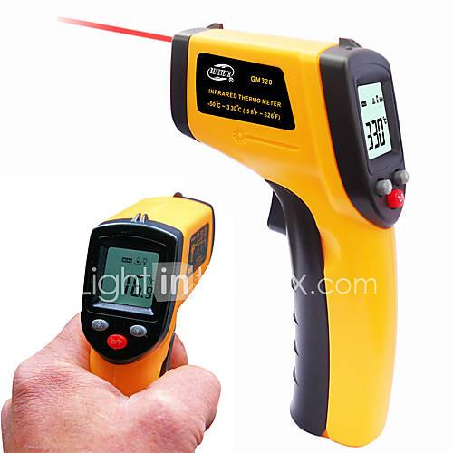 sans contact thermomètre infrarouge numérique lcd GM320 de température du pyromètre numérique