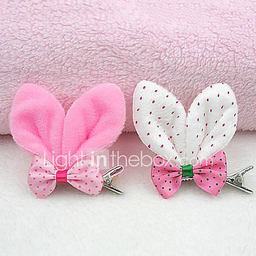 oreilles de lapin motif accessoires de cheveux à la mode pour animaux chiens