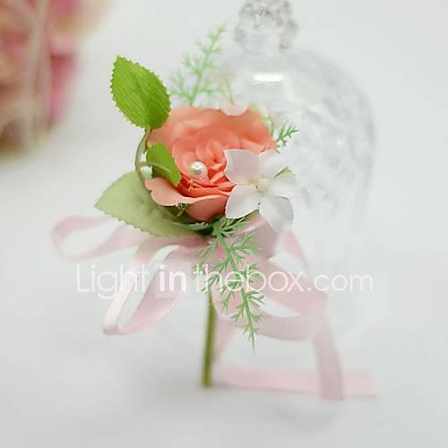 Ramos de Flores para Boda Forma Libre Rosas Ojales Boda / Fiesta / noche Algodón / Seda Aprox.5cm Lightinthebox