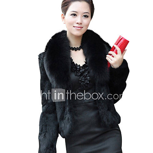 hansifei elegante novo inverno vendendo casaco de pele falso