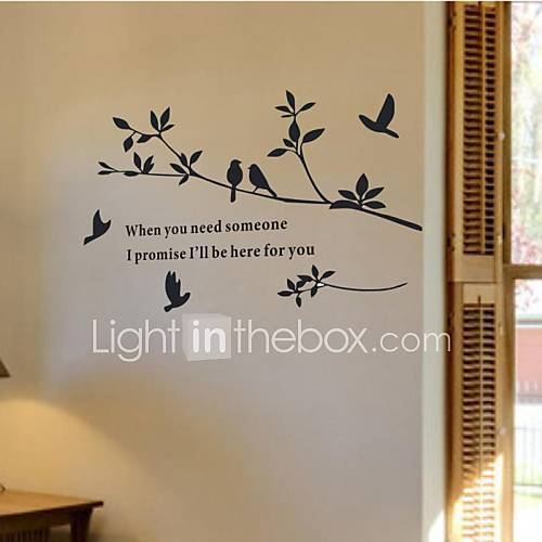 Wall Stickers Wall Decals Home Decoration Bird Murals Wall Stickers