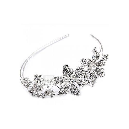 prata-banhado-flores-de-strass-headband-tiara-partido-faixa-de-cabelo-prom