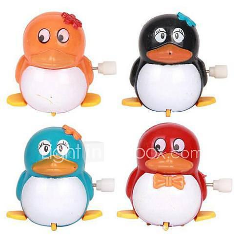 marcher les jouets des enfants pingouin horlogerie (couleur aléatoire)