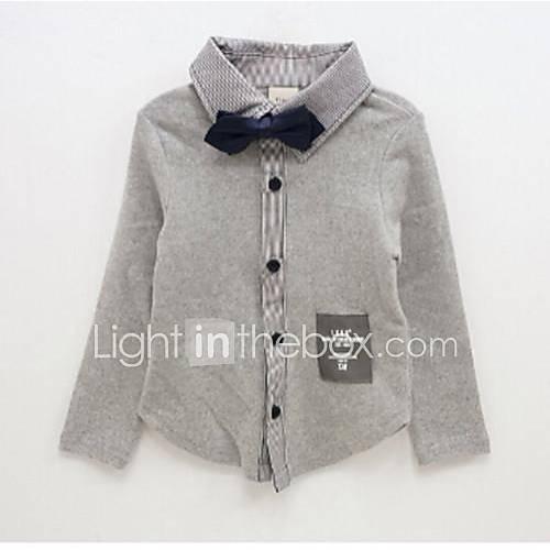 longs manteaux à manches de la mode chemise garçon de garçon