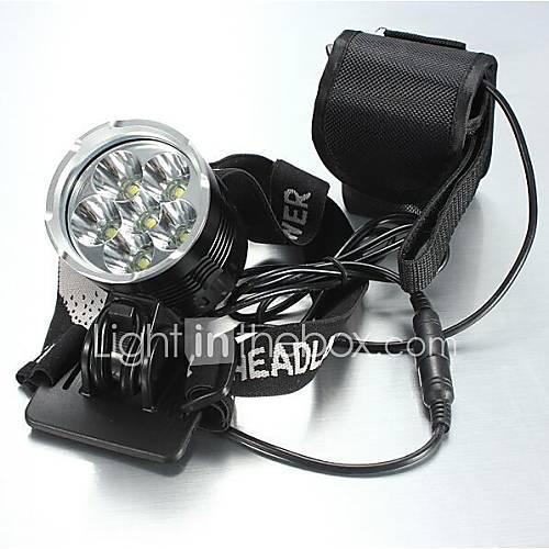 Iluminación Linternas de Cabeza LED 8400 Lumens 5 Modo Cree XM-L T6 18650.0 A Prueba de Agua / RecargableCamping/Senderismo/Cuevas / De Descuento en Lightinthebox