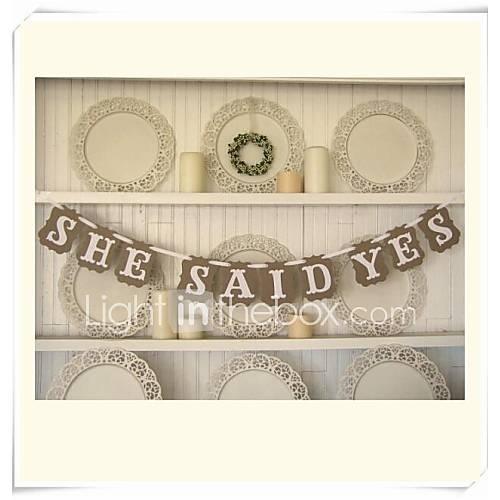 Papel duro decoraciones de la boda 1piece set primavera - Decoraciones de papel ...
