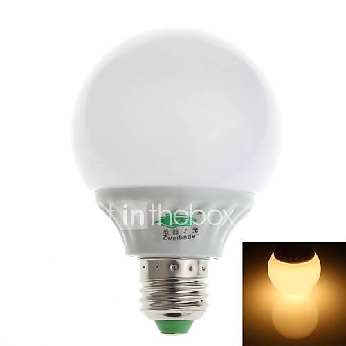 zweihnder e27 5W 480lm 3000-3500K 18x2835 lampe SMD ampoule chaude (100-240V)