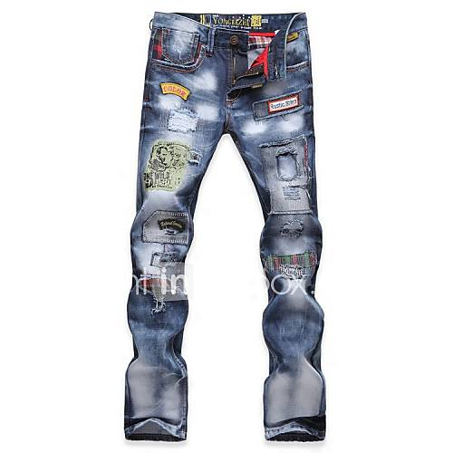 Flowers And Denim Clothing Mens