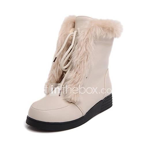 Zapatos de mujer tac n bajo botas de nieve punta - Zapatos de trabajo ...