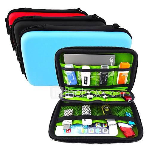 lacdo étui de protection sac de rangement pour les 2,5 pouces wd Seagate 1To toshiba 2tb USB 3.0 disque dur de carte SD externe
