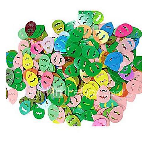 320 piezas de pascua confeti de huevo para la decoraci n for Decoracion de pascua