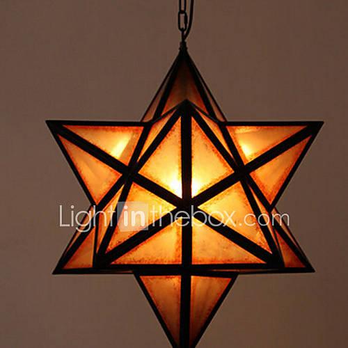 Pendant Light, une lumière, lampe Selfdom originalité style rétro métallique