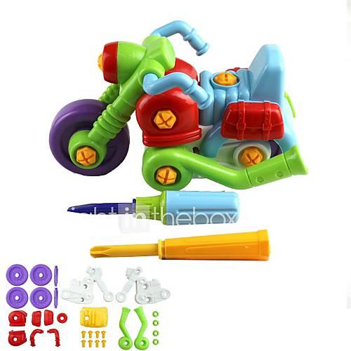 35 parties de moto assemblage jouet pour enfant