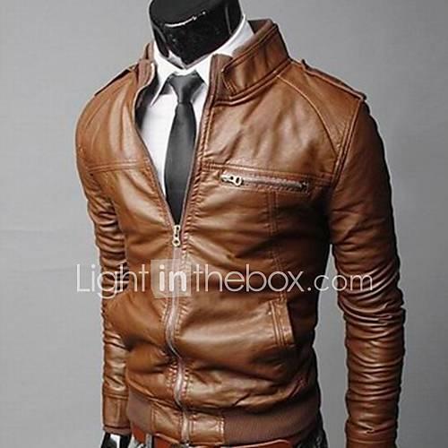 La veste de moto de la mode des hommes grands de la mode