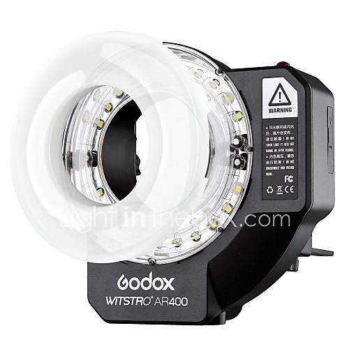 GODOX batterie li-ion anneau flash haute puissance 400ws speedlite Pour appareils reflex avec lumière LED