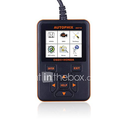autophix outil de diagnostic Honda / Acura  obd2 obdii scanner professionnel es710