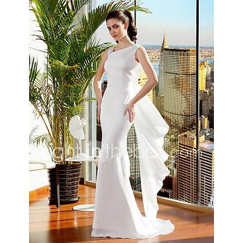 Mermaid Wedding Dress Petite: Lanting Bride® Trumpet / Mermaid Petite / Plus Sizes