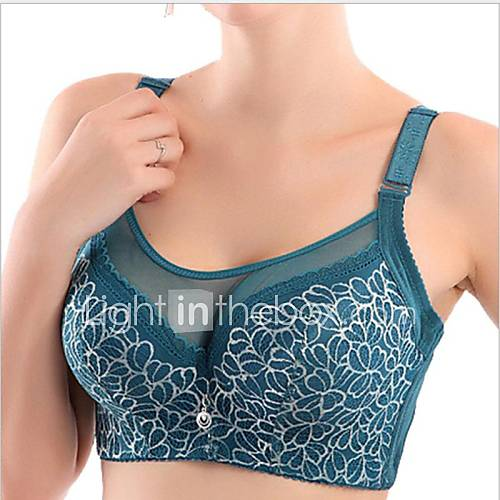 5/8 cup Bras  Push-up/Underwire Bra Nylon/Polyester