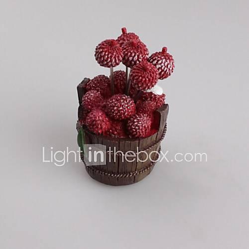 créative fruits fourche en acier inoxydable, de l'acier inoxydable de 10 x 3 x 0,5 cm (4,0 × 1,2 × 0,2 pouces) de type aléatoire