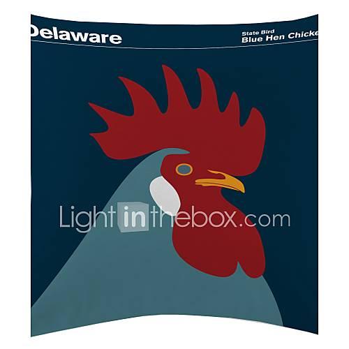 blauwe duivin kip fluwelen decoratieve kussensloop 2635298 2016  u2013 $6 79