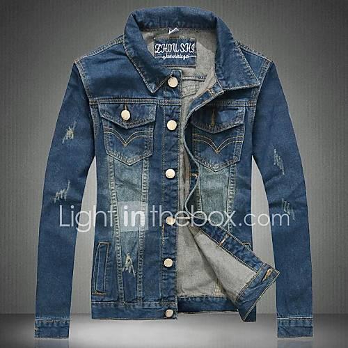 la nouvelle veste en jean pour hommes