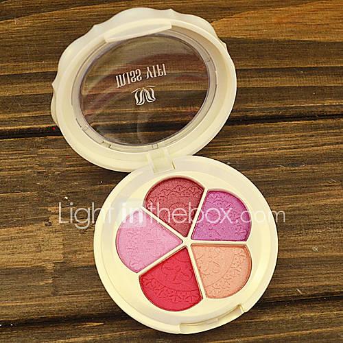 minéraux 5 couleurs pétale ombre à paupières