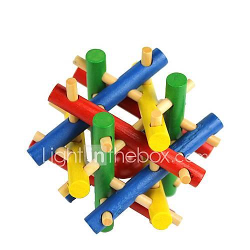 colorés perles de jouets en bois échappent puzzle pour débloquer